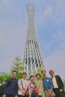 Michael, ?, Kamy, Katherine, KH, Andy; Canton Tower