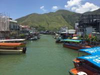 Tai O from bridge