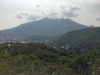 Mountain  behind Mui Wo