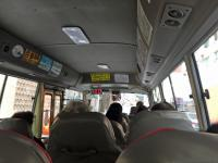 On the minibus to Causeway Bay