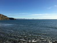 Otago coast from Aromoana beach
