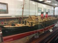 One of many historically significant model ships