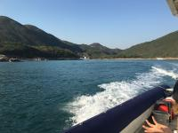 Back towards Sai Kung