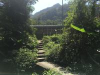 Start of footpath opposite Kadoorie Farm