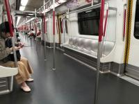 Not often the MTR is this empty