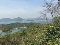 Peng Chau and Disneyland from Finger Hill