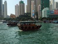 Sampan ferries to Ap Lei Chau
