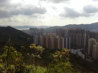 Tseung Kwan O from Black Hill