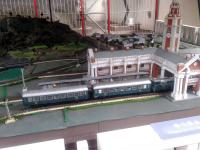 Model train at railway museum